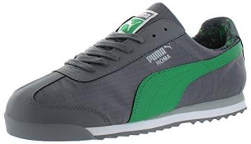 PUMA Men's Roma Ripstop Camo Sneaker, Gray/Green, 10.5 - 1