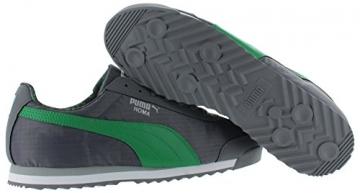 PUMA Men's Roma Ripstop Camo Sneaker, Gray/Green, 10.5 - 3