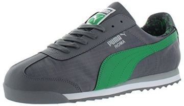 PUMA Men's Roma Ripstop Camo Sneaker, Gray/Green, 11.5 - 1