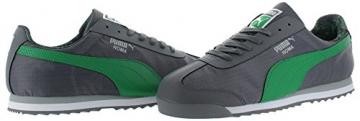 PUMA Men's Roma Ripstop Camo Sneaker, Gray/Green, 11.5 - 2